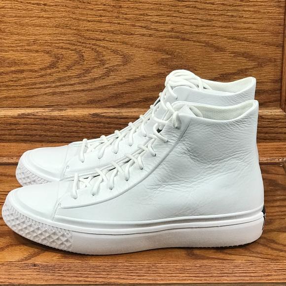 90dfdbd6537b Converse Ctas Modern Hi White Black White Shoes
